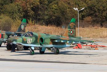 197 - Bulgaria - Air Force Sukhoi Su-25K