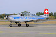 HB-RBP - Private Pilatus P-3 aircraft