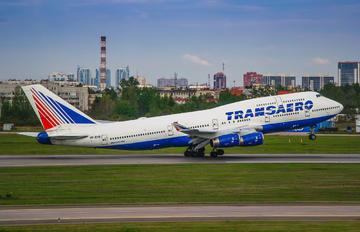 VP-BVR - Transaero Airlines Boeing 747-400