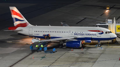 G-DBCF - British Airways Airbus A319