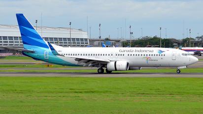 PK-GMJ - Garuda Indonesia Boeing 737-800