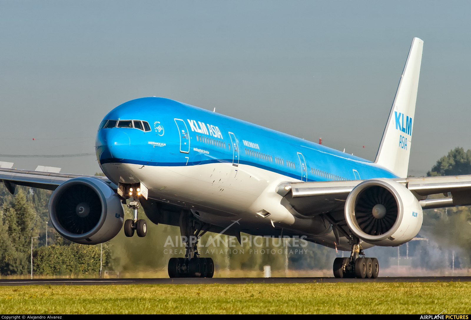 KLM Asia PH-BVC aircraft at Amsterdam - Schiphol