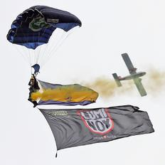 - - The Tigers Parachute Display Team - Aviation Glamour - Military Personnel