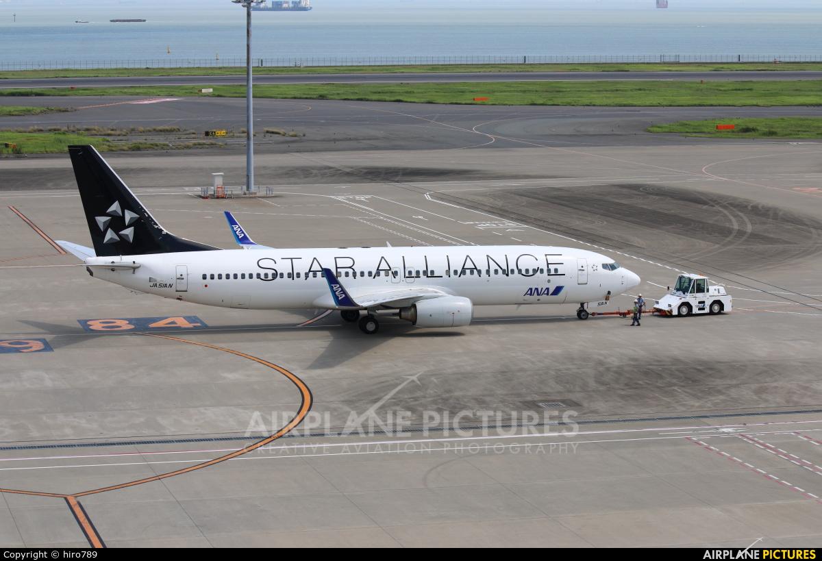 ANA - All Nippon Airways JA51AN aircraft at Tokyo - Haneda Intl