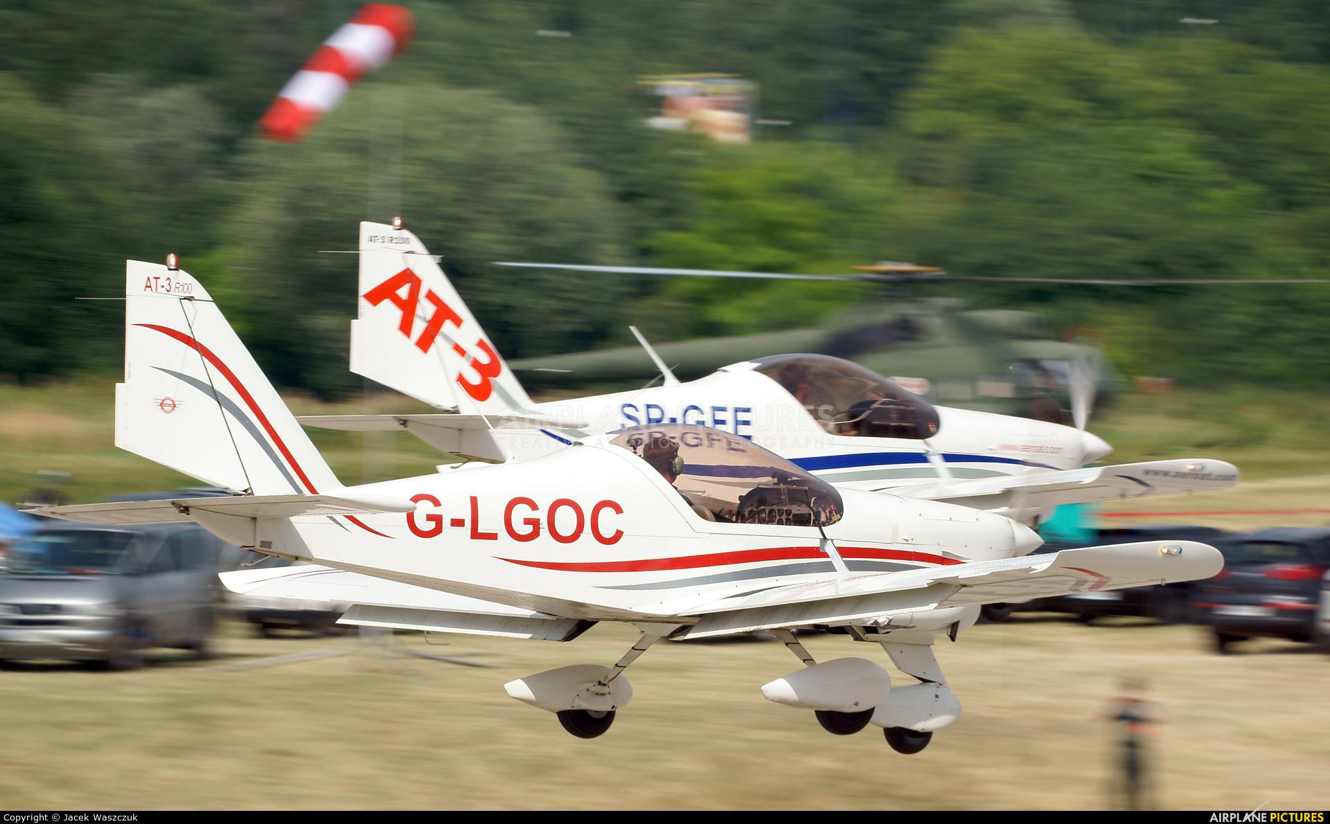 3AT3 Formation Flying Team G-LGOC aircraft at Kraków, Rakowice Czyżyny - Museum of Polish Aviation