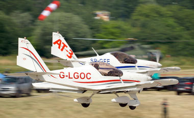 G-LGOC - 3AT3 Formation Flying Team Aero AT-3 R100
