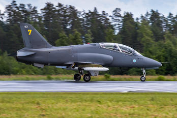 HW-343 - Finland - Air Force: Midnight Hawks British Aerospace Hawk 51
