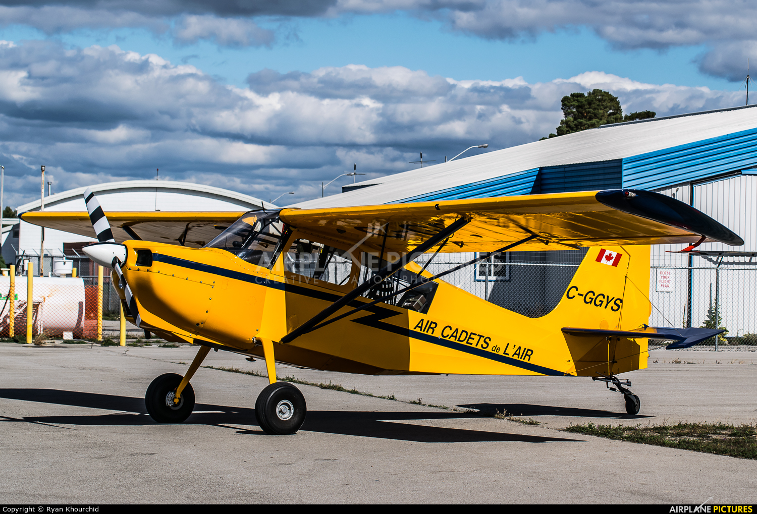 Canada - Air Force C-GGYS aircraft at Off Airport - Canada