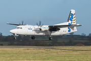OO-VLF - VLM Airlines Fokker 50 aircraft
