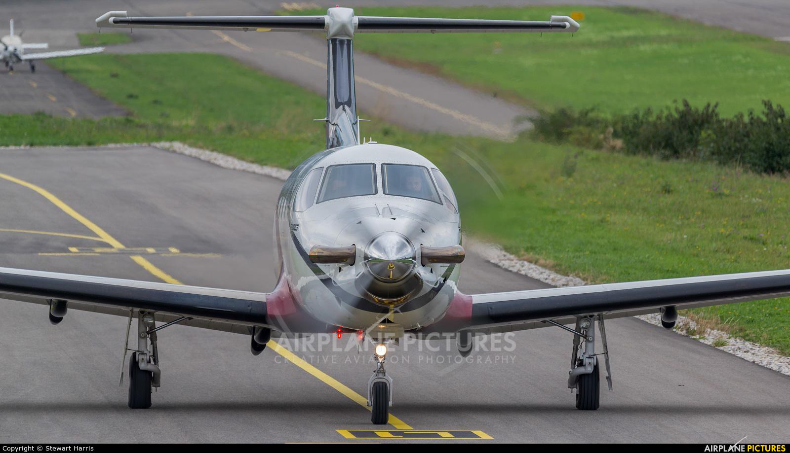 FLY 7 Executive Aviation SA HB-FXX aircraft at Lausanne - La Blécherette