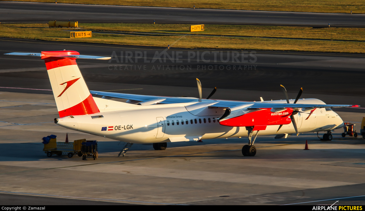 Austrian Airlines/Arrows/Tyrolean OE-LGK aircraft at Vienna - Schwechat