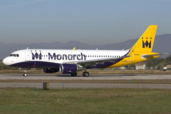 G-ZBAS - Monarch Airlines Airbus A320
