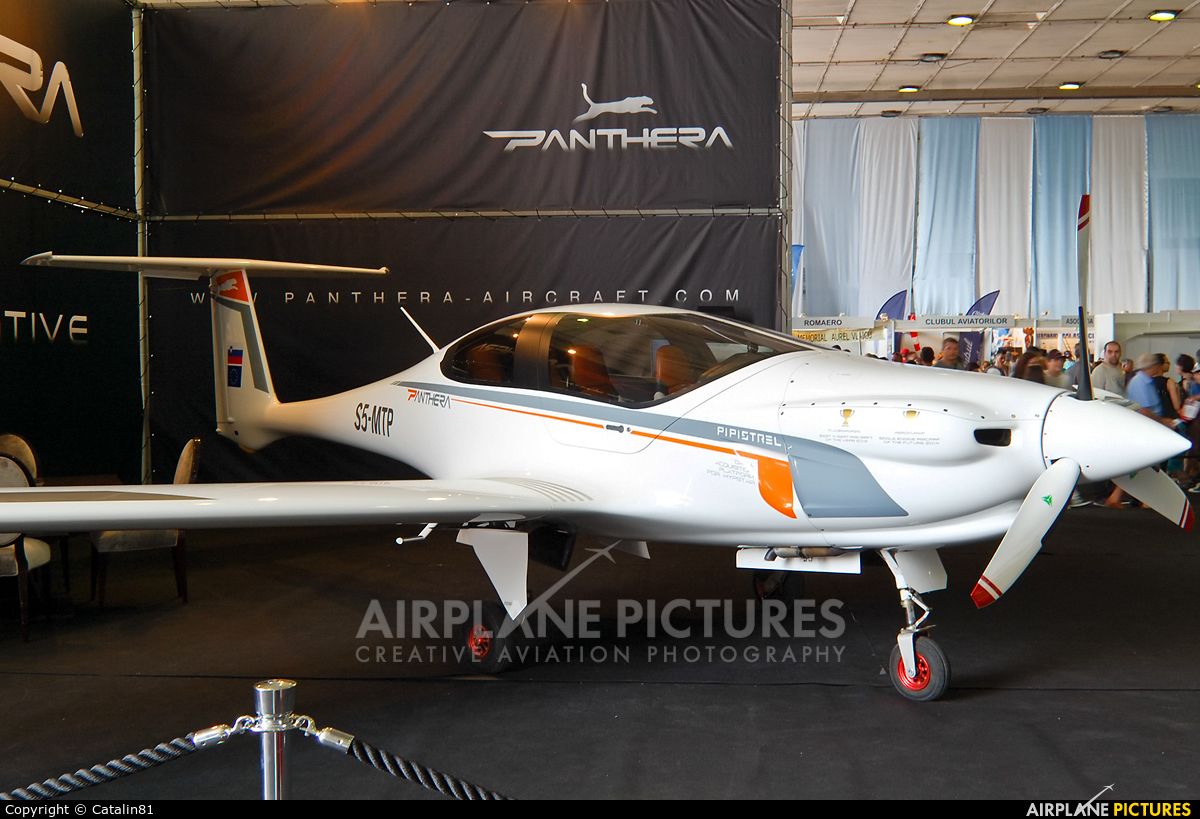 Pipistrel S5-MTP aircraft at Bucharest - Aurel Vlaicu Intl