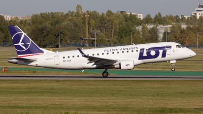 SP-LIA - LOT - Polish Airlines Embraer ERJ-175 (170-200)