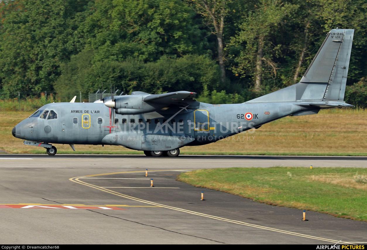 France - Air Force 62-IK aircraft at Basel - Mulhouse- Euro