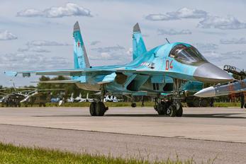 RF-92252 - Russia - Air Force Sukhoi Su-34