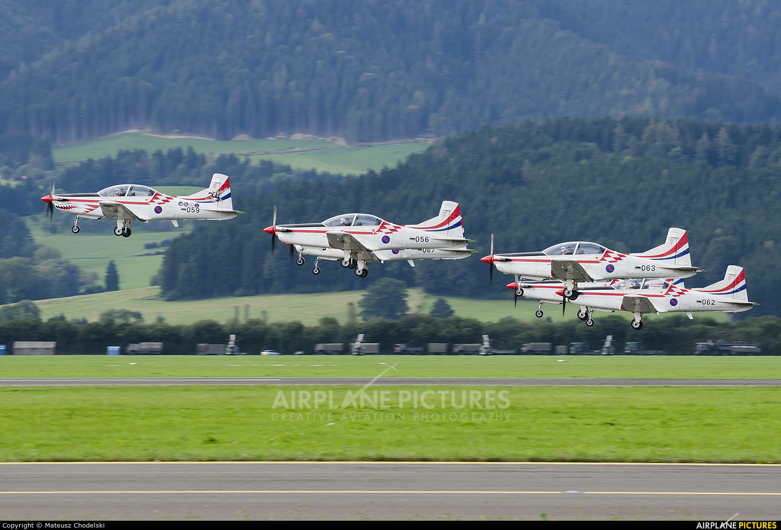 Croatia - Air Force 059 aircraft at Zeltweg