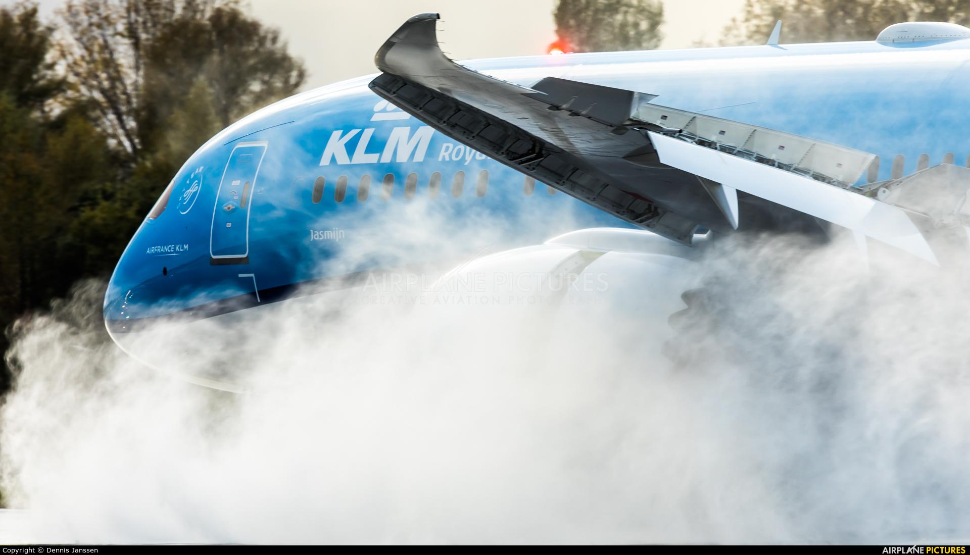 KLM PH-BHH aircraft at Amsterdam - Schiphol