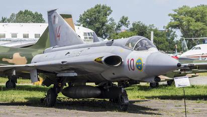10 - Sweden - Air Force SAAB J 35J Draken