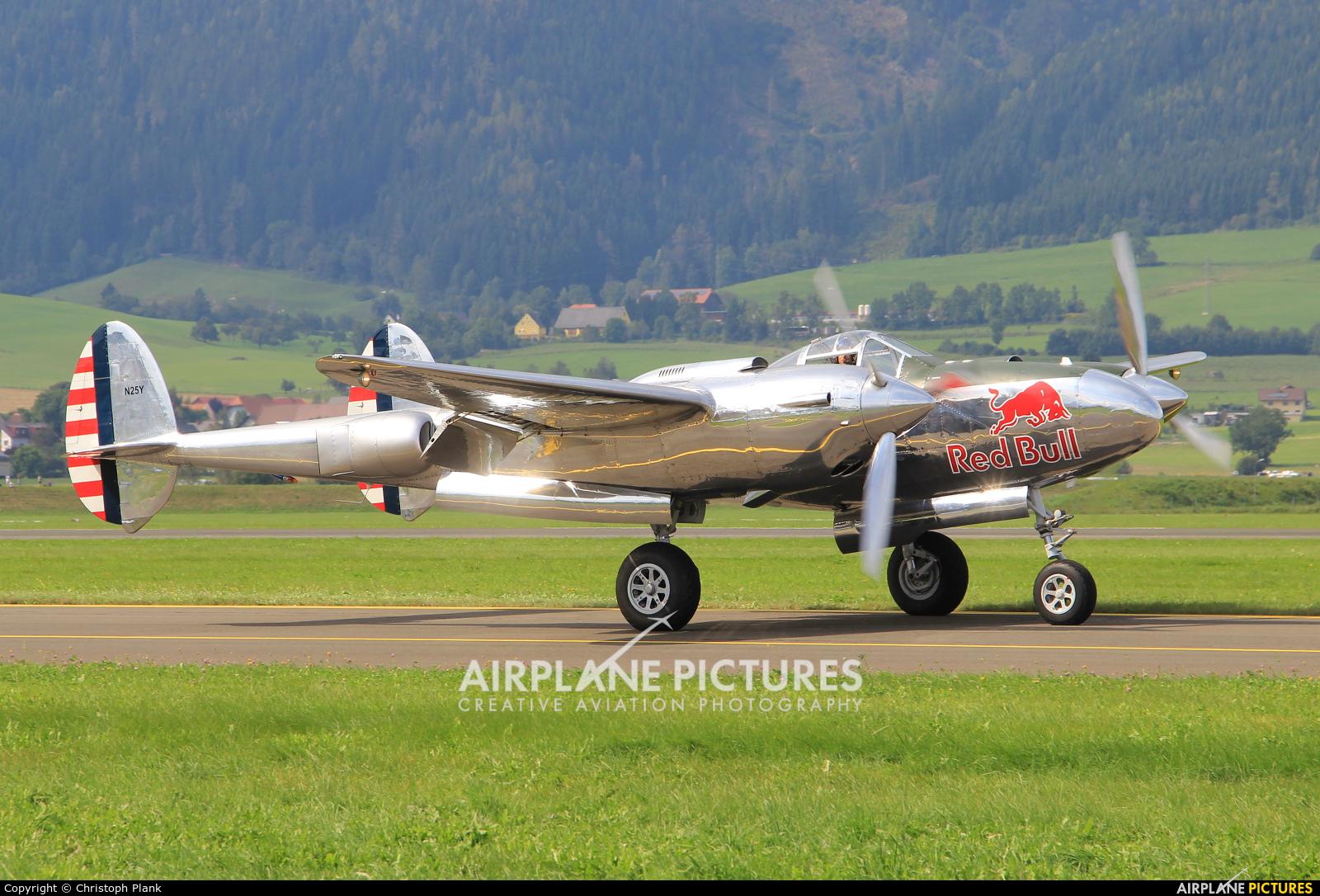 The Flying Bulls N25Y aircraft at Zeltweg