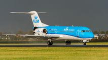 PH-KZP - KLM Cityhopper Fokker 70 aircraft