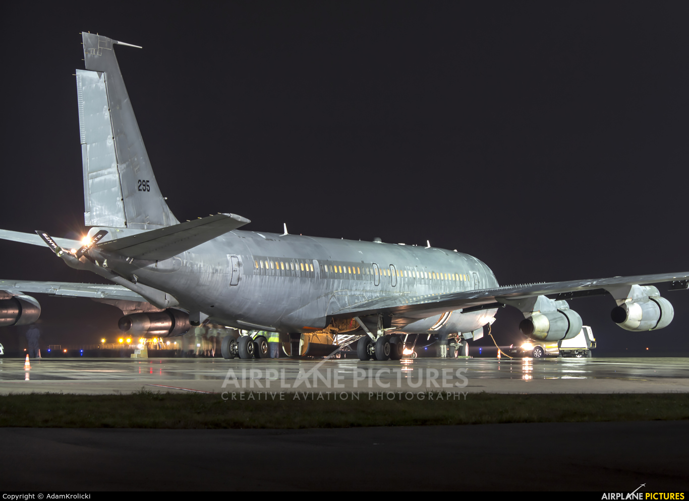 Israel - Defence Force 295 aircraft at Katowice - Pyrzowice