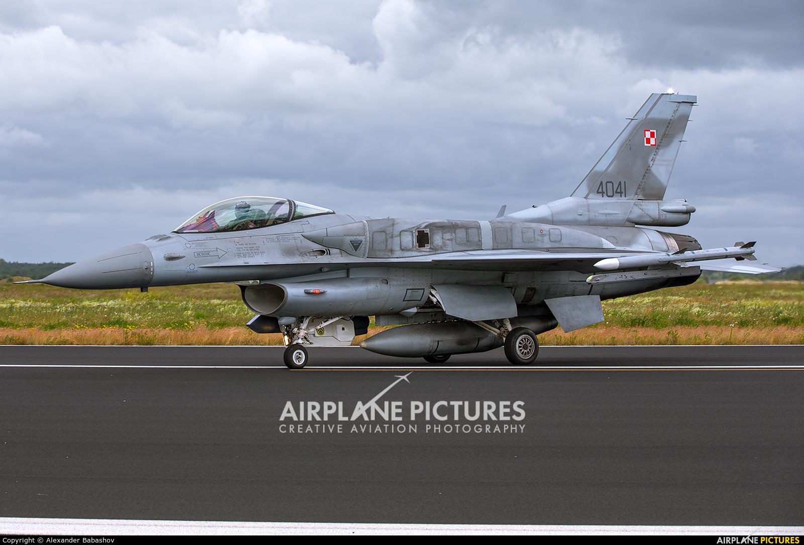Poland - Air Force 4041 aircraft at Schleswig-Jagel