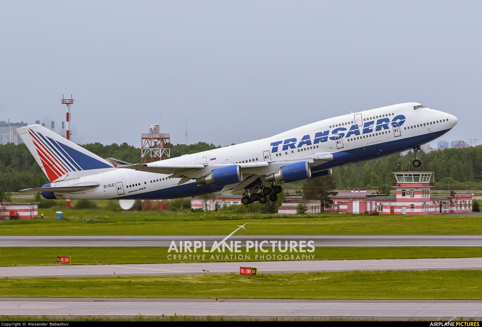 Transaero Airlines Boeing 747-400 EI-XLE