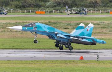 RF-95844 - Russia - Air Force Sukhoi Su-34