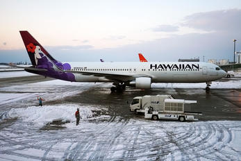 N590HA - Hawaiian Airlines Boeing 767-300ER