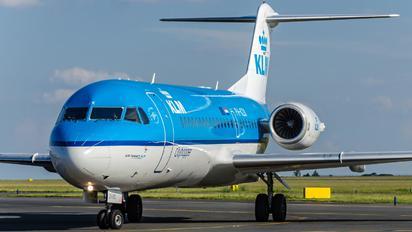 PH-KZK - KLM Cityhopper Fokker 70