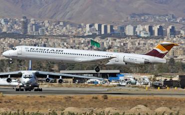 EP-LCN - Kish Air McDonnell Douglas MD-83