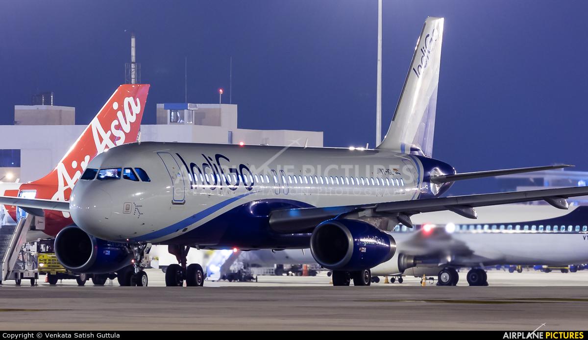 IndiGo VT-IGL aircraft at Bangalore - Bengaluru Intl