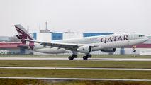A7-AED - Qatar Airways Airbus A330-300 aircraft