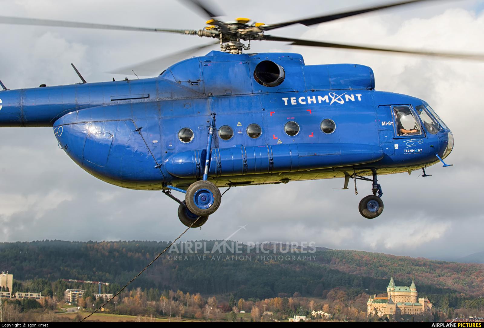 Techmont OM-XYC aircraft at Prievidza