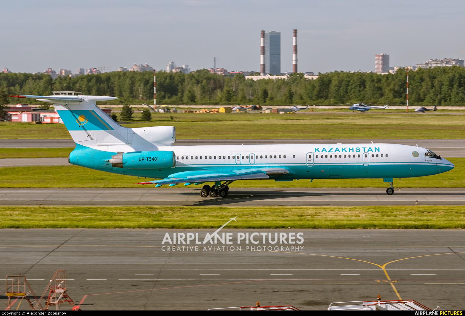 Kazakhstan - Air Force Tupolev Tu-154M UP-T5401