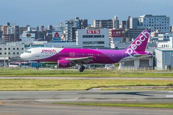 JA812P - Peach Aviation Airbus A320