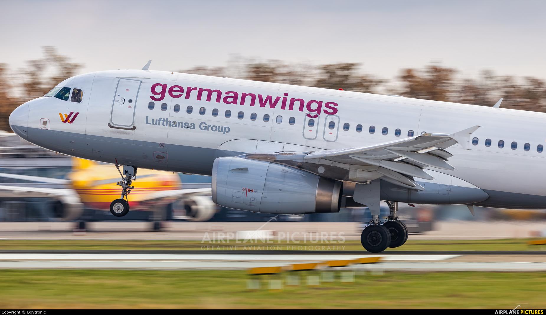 Germanwings D-AGWL aircraft at Zagreb