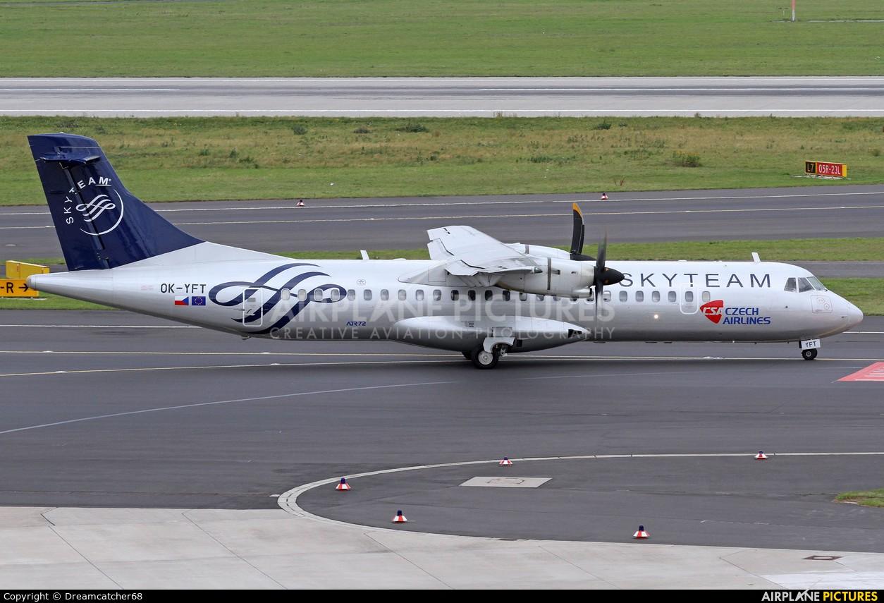 CSA - Czech Airlines OK-YFT aircraft at Düsseldorf