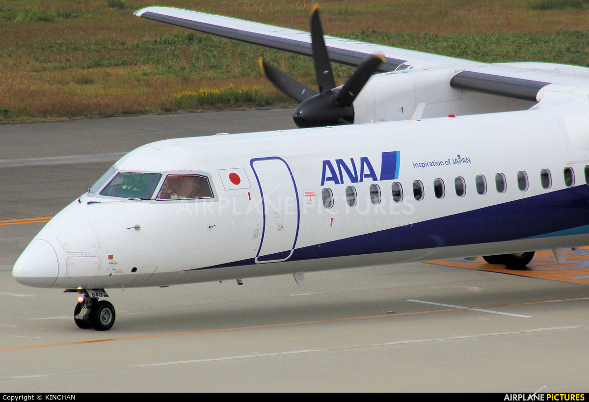 ANA Wings JA843A aircraft at Chubu Centrair Intl