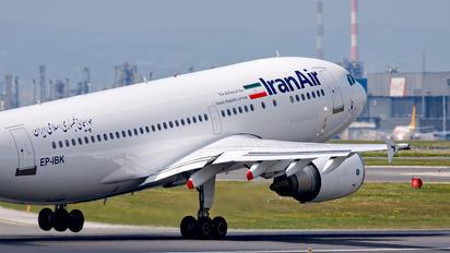 EP-IBK - Iran Air Airbus A310