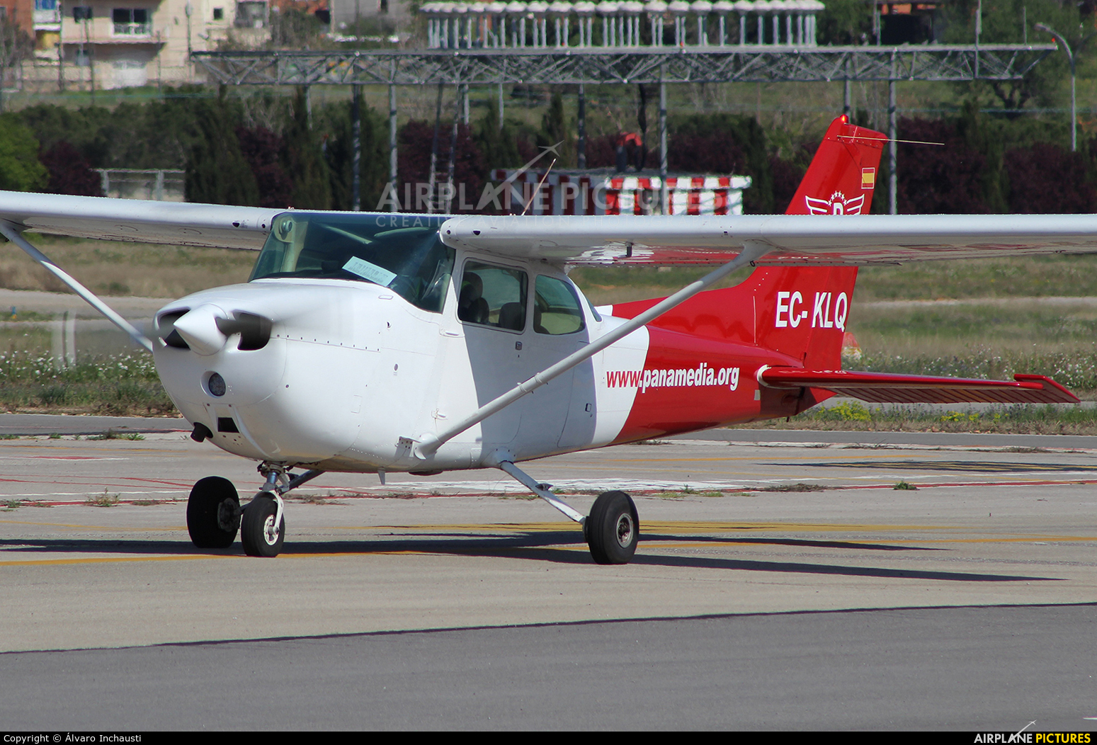 Panamedia Intl. Flight School EC-KLQ aircraft at Reus
