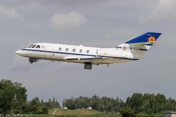 CE-02 - Belgium - Air Force Dassault Falcon 20E Mystère