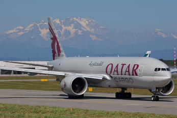 A7-BFF - Qatar Airways Cargo Boeing 777F