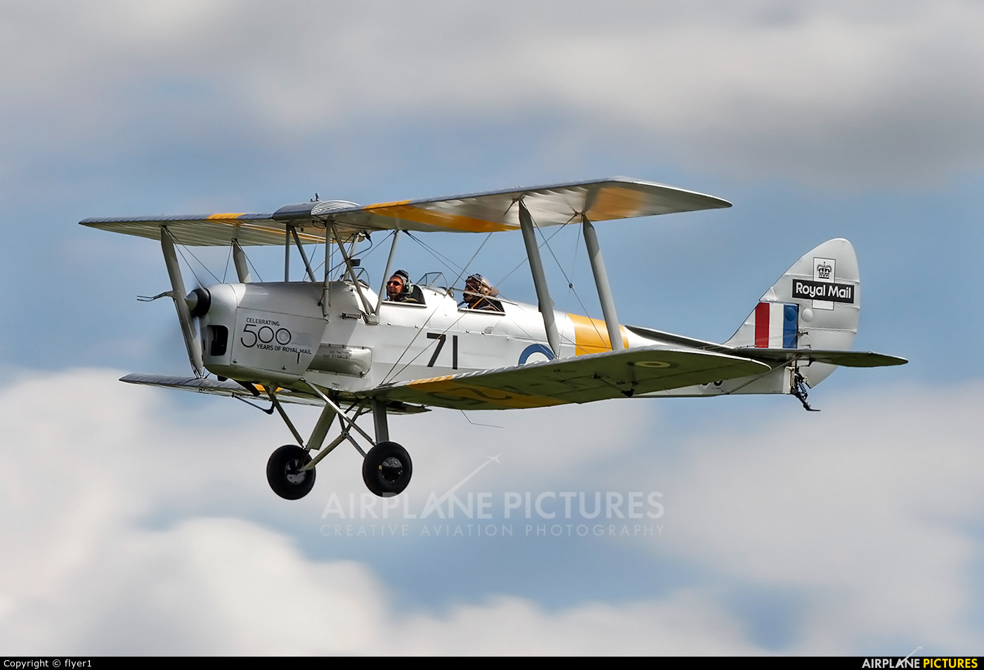 Aero Legends G-ANMO aircraft at Lashenden / Headcorn