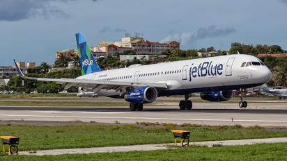 N934JB - JetBlue Airways Airbus A321