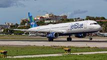 N934JB - JetBlue Airways Airbus A321 aircraft