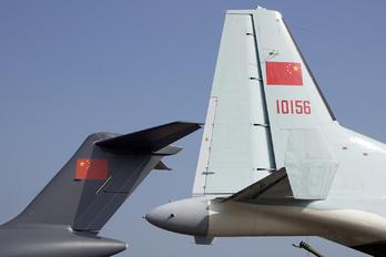 10156 - China - Air Force Shaanxi Y-9
