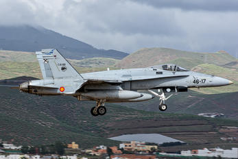 C.15-89 - Spain - Air Force McDonnell Douglas F/A-18A Hornet