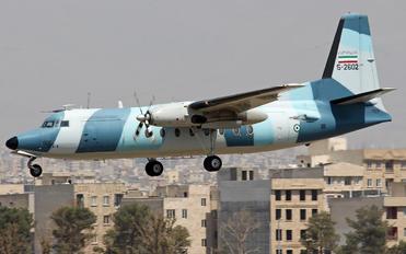 5-2602 - Iran - Navy Fokker F27-600 Friendship